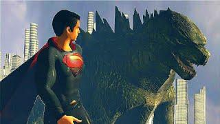 Godzilla meets Superman