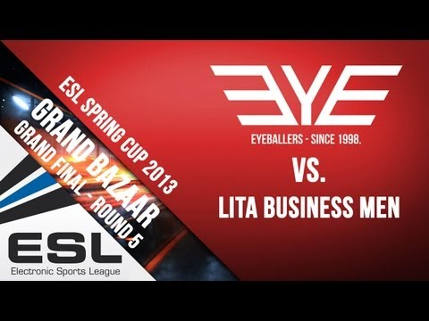 EYEBALLERS vs Lita | ESL BF3 SQR 4on4 Spring Cup 2013 Grand Final | Round 5