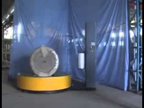 Elite industries reel pallet type wrapping machine