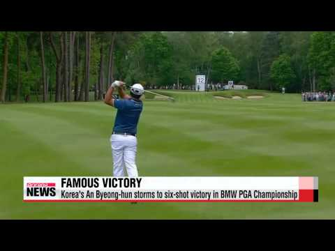 Korea′s An Byeong-hun storms to six-shot victory in BMW PGA Championship at Went