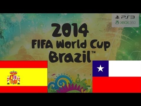 FIFA World Cup 2014: Spain 0-0 Chile score prediction (FIFA14)