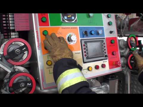 Simulateur incendie de La Rama / Lausanne