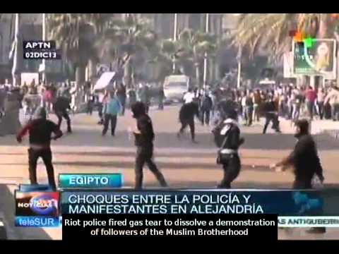 Islamists protest against draft Constitution in Egypt