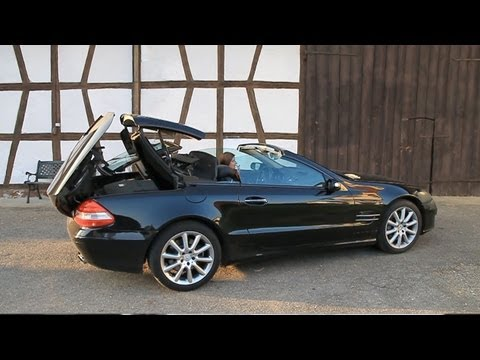 mercedes sl unfall probefahrt. Black Bedroom Furniture Sets. Home Design Ideas