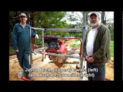 NEW sawmill model photos - Junior Peterson Mill (JP)