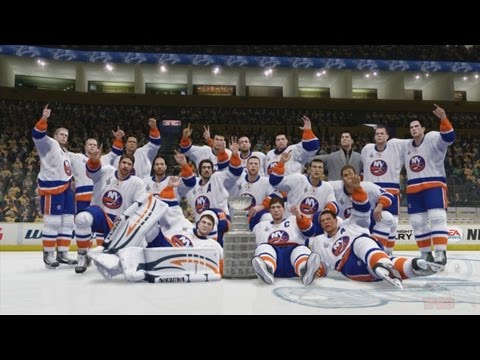 NHL 14 - New York Islanders Stanley Cup Championship Celebration