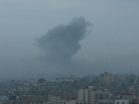 Raw: Israel Bombs Multiple Targets in Gaza