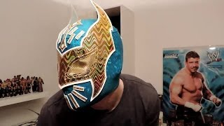 WWE SIN CARA Replica Maske Review Azul Mask [Deutsch