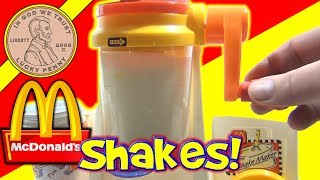 McDonald's Happy Meal Magic 1993 Shake Maker Set Making