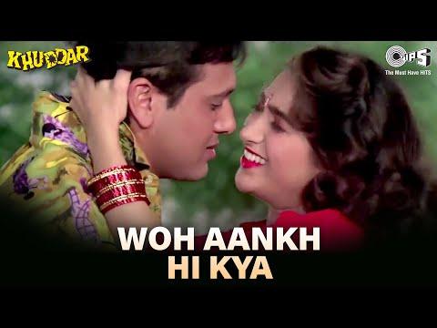 Woh Aankh Hi Kya - Khuddar - Govinda & Karisma Kapoor - Full Song - HQ