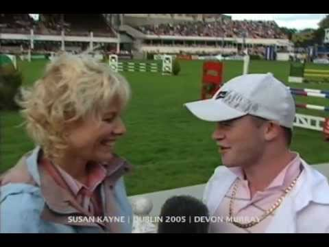 Harry Potter Heart-throb DEVON MURRAY at Dublin Horse Show