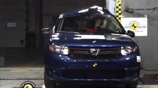 Dacia Sandero - NCAP çarpışma Testi