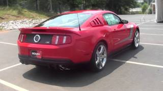 FOR SALE NEW 2012 FORD MUSTANG ROUSH 3!!! 540 H.P. !!! STK