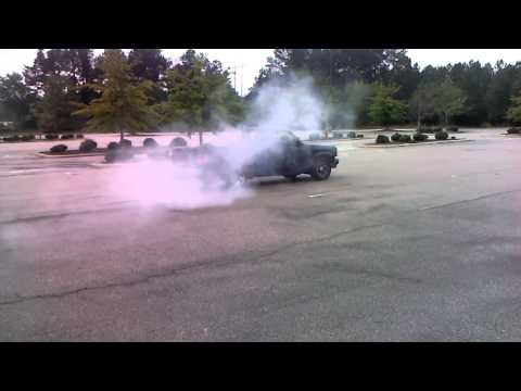 The best v6 burn out  of 2012