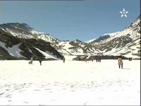 الثلوج بتيشكا في اول أيام العطلة