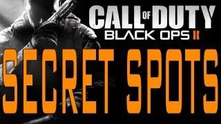 Black Ops 2 Secret Spots On Hijacked (Call Of Duty BO2