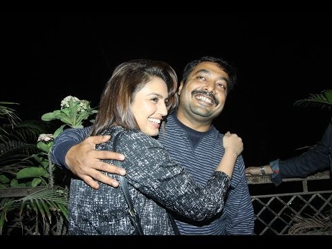 Huma Qureshi & Anurag Kashyap get cozy at a Movie Date