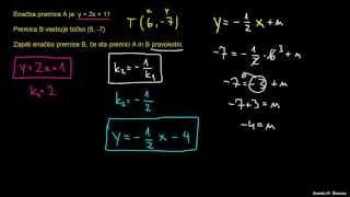Pravokotne premice 2