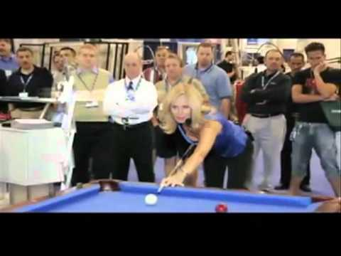 Ewa Mataya Laurance Trick Billiards Champion Intro