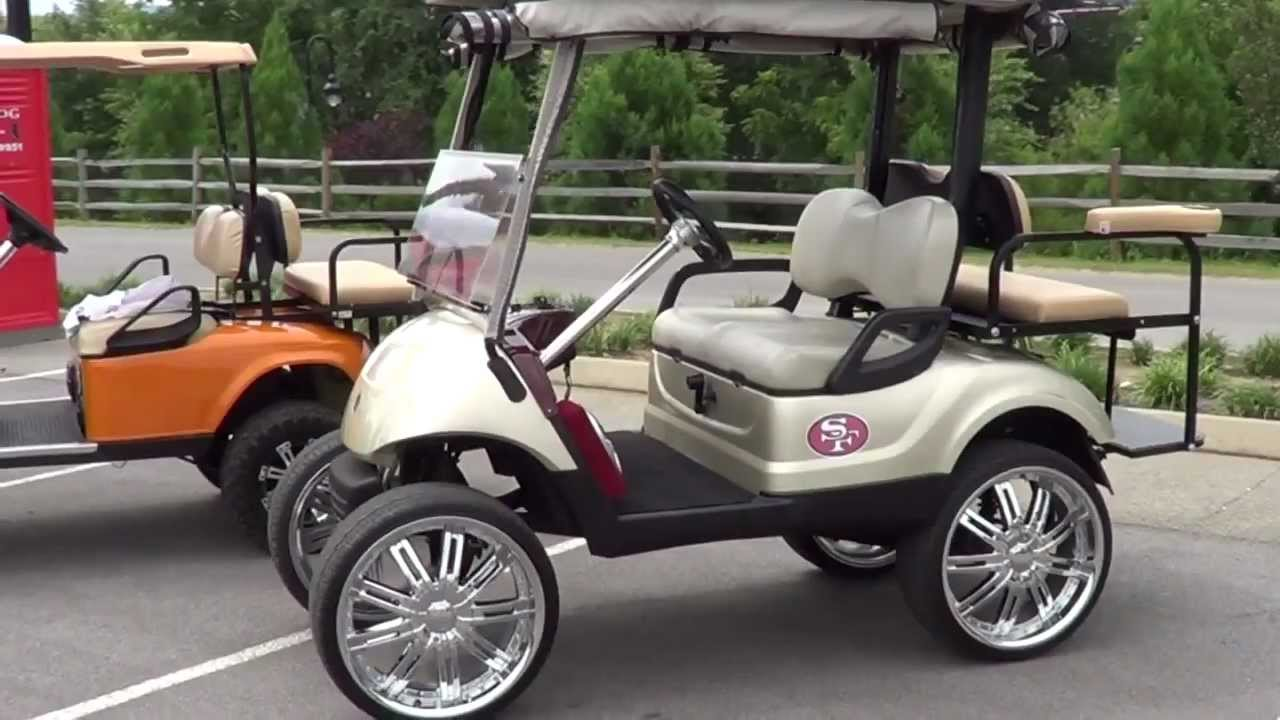 used pimped out golf carts