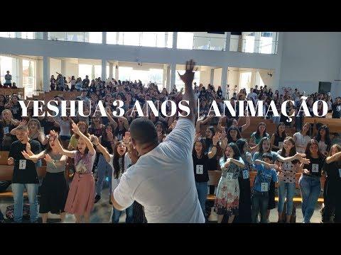 Yeshua 3 anos | Parte 1 | 07.09.2019 | Animação | ANSPAZ