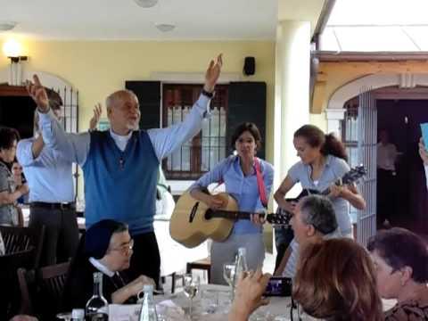 Padre José 50 anos de sacerdócio Itália