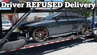 My Audi RS7 was Taken From me By its Delivery Driver! Here's how I got it back...