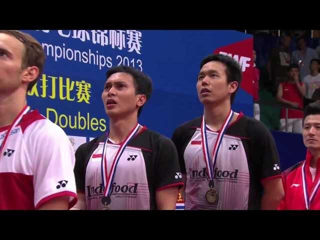 Finals - MD (Highlight) - M.Boe/C.Mogensen vs M.Ahsan/H.Setiawan - 2013 BWF World Championships