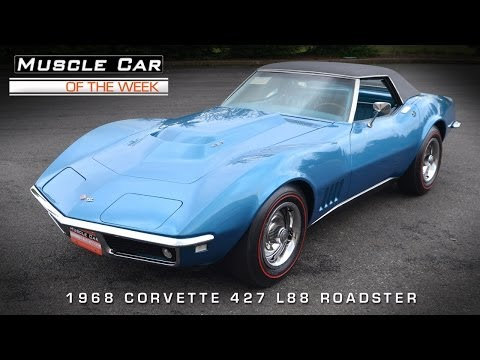 Muscle Car Of The Week Video #41: 1968 Chevrolet Corvette L88 427 Road