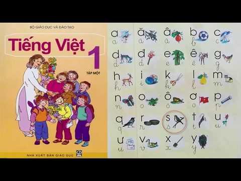 Dạy bé học bảng chữ cái tiếng Việt cho trẻ em | sách Tiếng Việt lớp 1 | PA channel