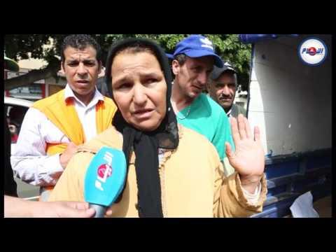 مواطن في حالة يرثى لها وزوجته تتهم مستشفى