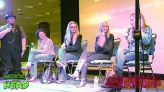 Ladies Of Elm Street Q&A Panel Heather Langenkamp, Kim