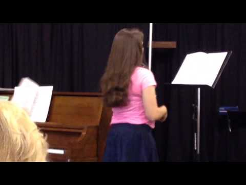 Becca's Spring Recital