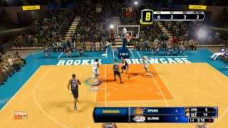 Andrew Wiggins Highlights Rookie Showcase NBA 2k14 (35pts