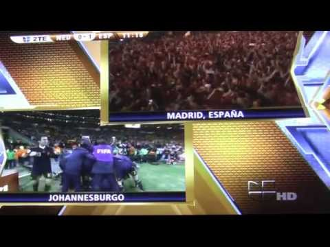 (HD) FULL HIGHLIGHTS: Spain vs. Netherlands (2010 World Cup Final)