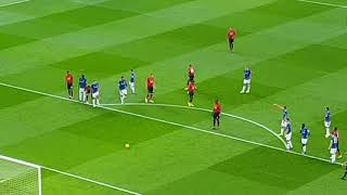 Paul Pogba Penalty Vs Everton 28.10.2018 Long Run Up