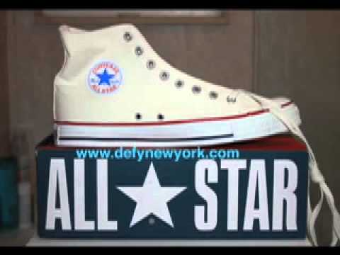 THE ULTIMATE CONVERSE ALL STAR CHUCK TAYLOR  MADE IN THE USA BUYERS VIDEO 1960's-2003