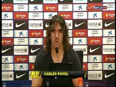 PUYOL DEJA EL FC BARCELONA