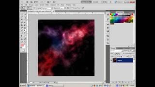 Photoshop Tutorial How To Create A Nebula, Lens Flare