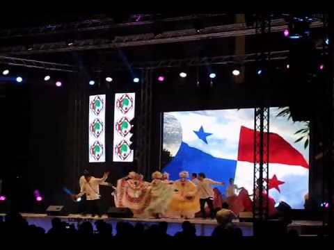 Baile folklor the Panama en Small World, Abu Dhabi Marzo 16 2012