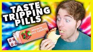 TASTE TRIPPING PILL TEST!