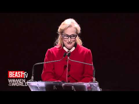 Women in the World 2012: Meryl Streep's Tribute to Hillary Clinton