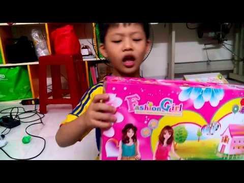 Long kod thuyết trình đồ chơi con gái