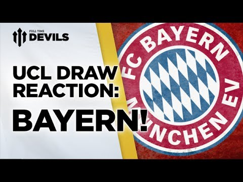 Manchester United Vs Bayern Munich | Champions League Draw Reaction