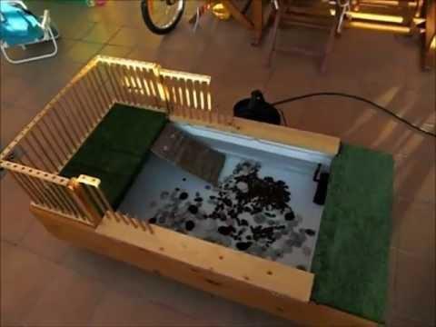 Estanque casero tortugas youtube for Como hacer un estanque en casa