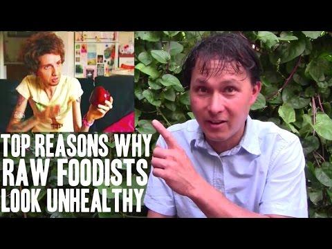 Top Reasons Why Raw Foodists Look Unhealthy