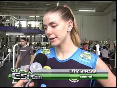 Letícia Hage volta para Praia Clube