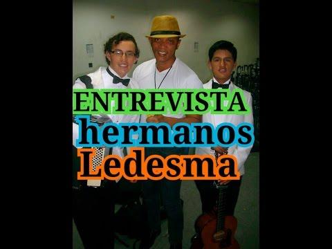 HERMANOS LEDESMA, GANADORES DE ECUADOR TIENE TALENTO 3 , ENTREVISTADOS POR FARANDULERO LUIS