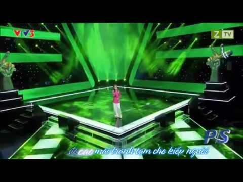 [Karaoke HD] Quê Em Mùa Nước Lũ - Phương Mỹ Chi (The Voice Kids of Vietnam - Giọng Hát Việt Nhí)
