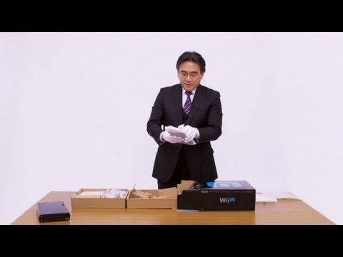 Распаковка Wii U
